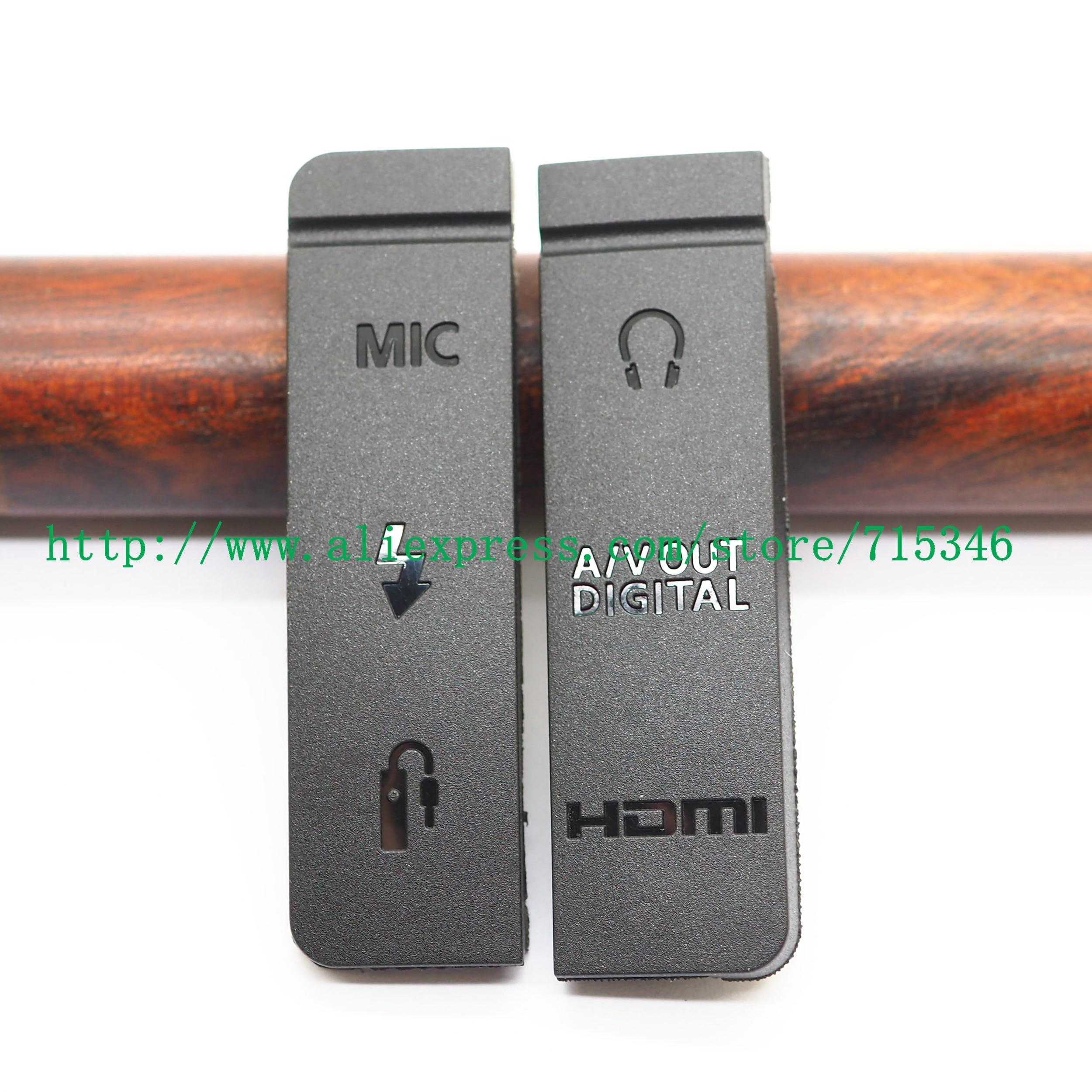 Couvercle inférieur de porte en caoutchouc pour caméra Canon EOS EOS 5D Mark III / 5DIII/5D3, compatible USB/HDMI, entrée/sortie vidéo, haute qualité
