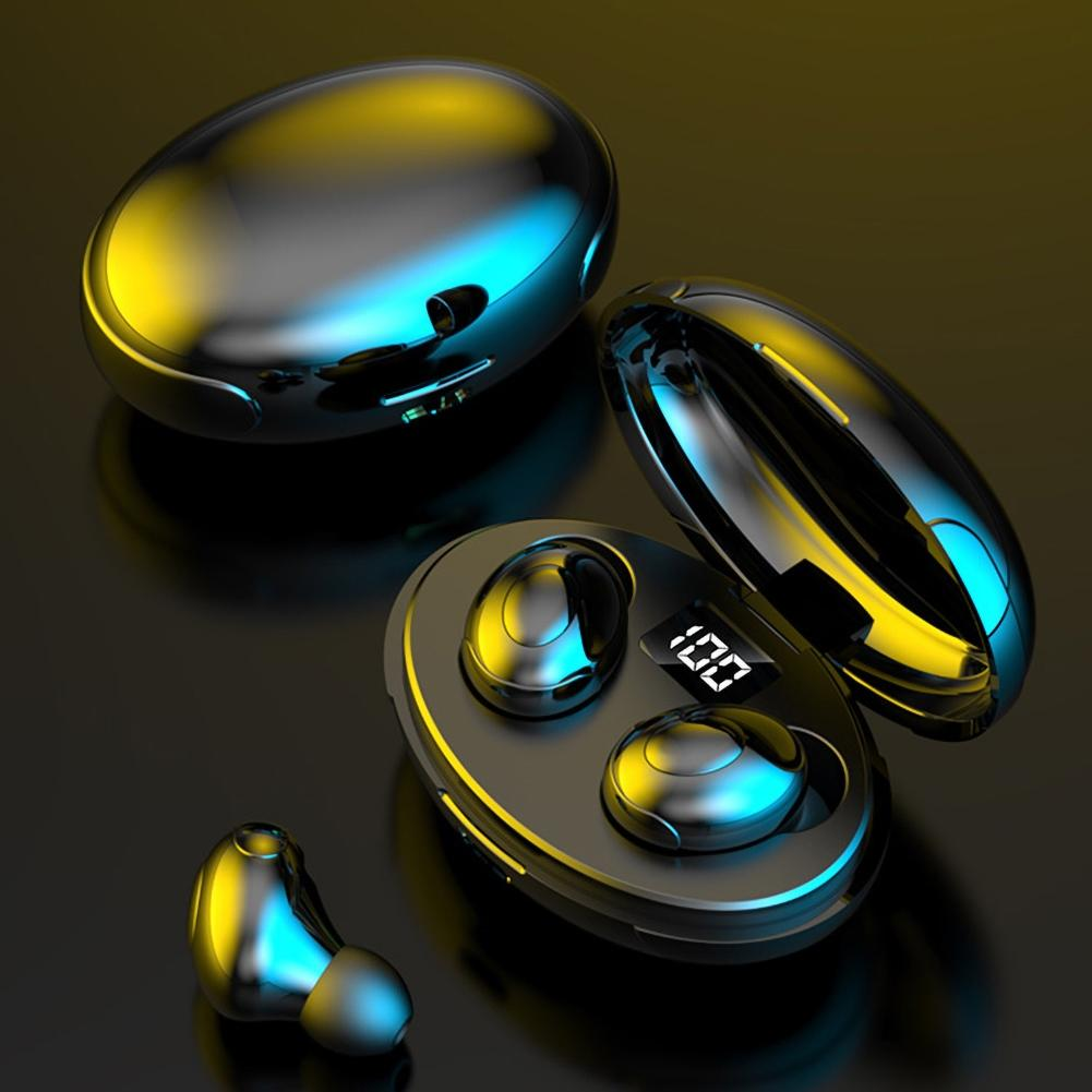 TWS Wireless Bluetooth 5.0 Earphones With Microphone Waterproof Noise Reduction Headphones Earbuds Stereo Headset LED Display