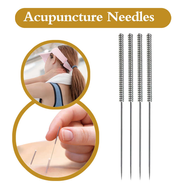 Zhongyan Taihe High Quality Disposable sterile Acupuncture Needle with tube CE/FDA body needle massager practice needle
