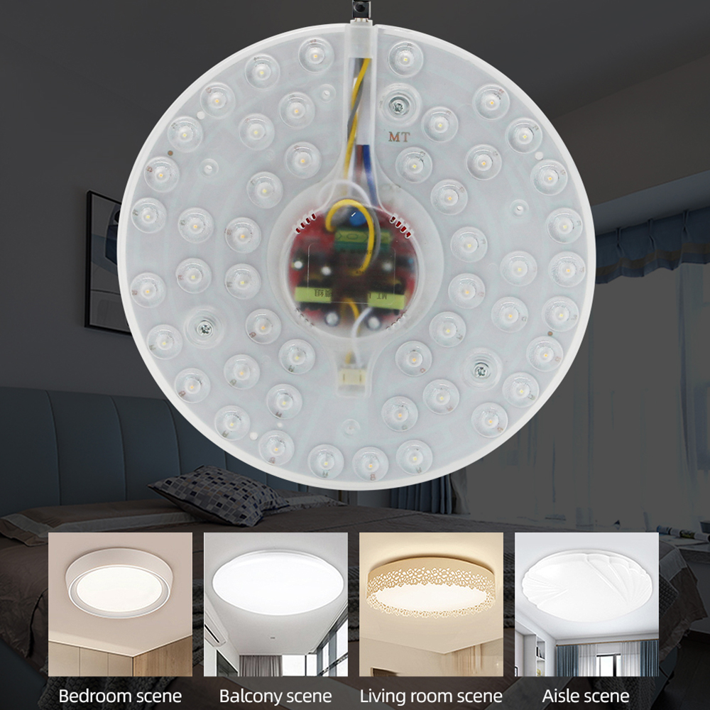 Zerouno Led Ceiling Light Chip Replacement Ceiling Panel Lamp 12w 18w 24w 36w 40w High Luminaire Home Daily Led Lighting Bulbs