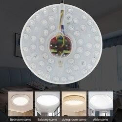 Zerouno led lampy sufitowe 12w 18w 24w 36w 40w 220V światła panelu modole chip wysokiej oprawy do codziennego użytku w domu led żarówki