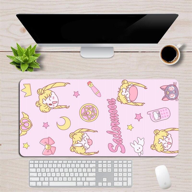 grande mouse almofada de borracha teclado do
