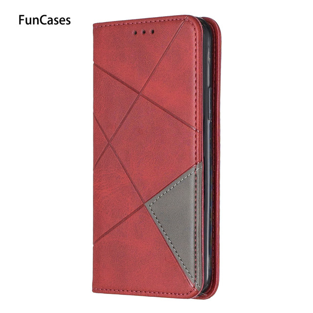 Color Matching Cellphone Covers For accesorios Huawei P30 Capinha For Protector Huawei estuche P30 Lite Pro PU Leather Book Case