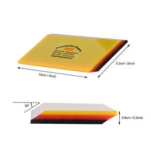 Image 5 - FOSHIO 2/5 sztuk miękkie PPF owijania ściągaczka Carbon Fiber Vinyl Wrap samochodów Film narzędzie do wklejania 2in1 skrobak okno barwienia Auto do czyszczenia