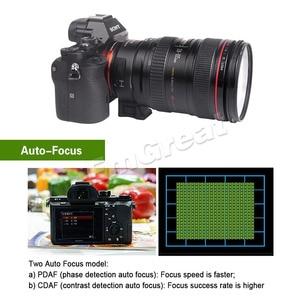 Image 4 - Viltrox EF NEX IV Auto Focus Lens Adapter for Canon EOS EF EF S Lens for Sony E NEX Full Frame A9 AII7 A7RII A7SII A6500 A6300