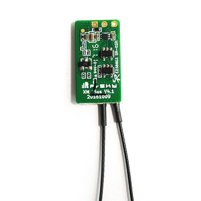 Ultralight Frsky XM/XM+ D16 SBUS Full Range Micro Receiver Up to 16CH for RC Multirotor FPV Racing Drone