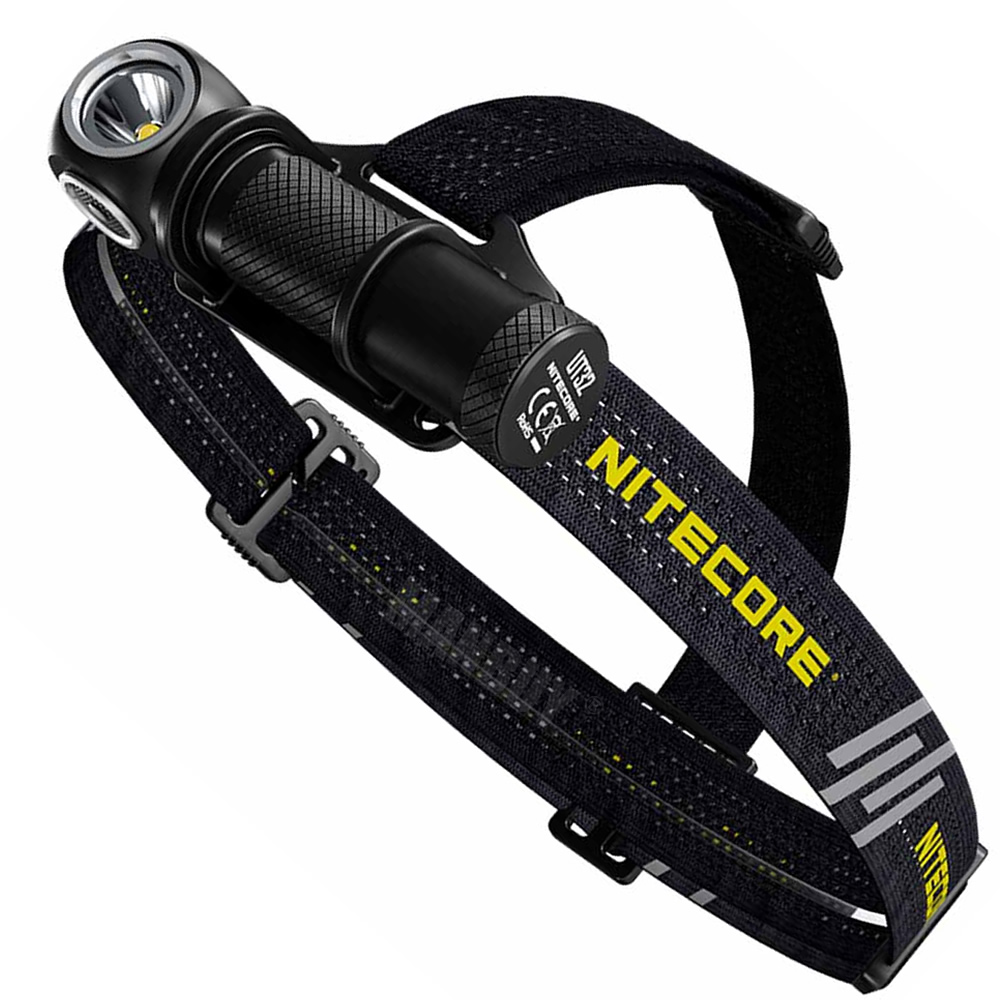 Free Shipping NITECORE UT32 Dual Output 1100 Lumens Cold + Warm 2LED Ultimate Headlamp Without 18650 for Outdoor Running Camping