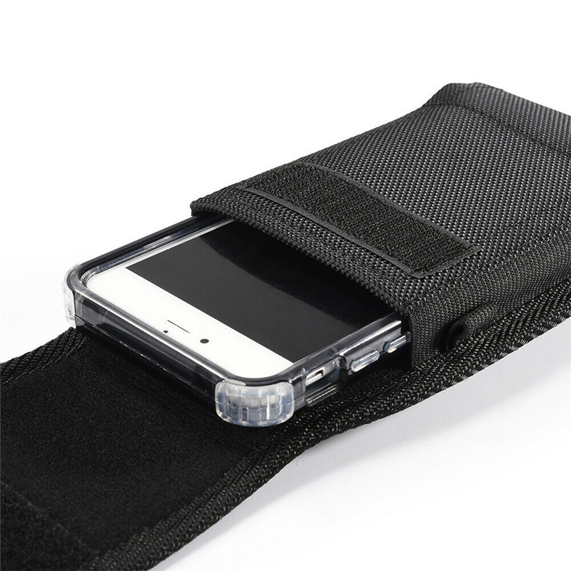 Universal Mobile Phone Holster Pouch Made of High-Quality Oxford Cloth Material 2