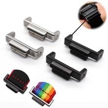 Novo 16mm adaptador de aço inoxidável para casio ga110/100/120 ga400 ga700 dw5600 5610 gwm5610 reequipamento acessórios do conector