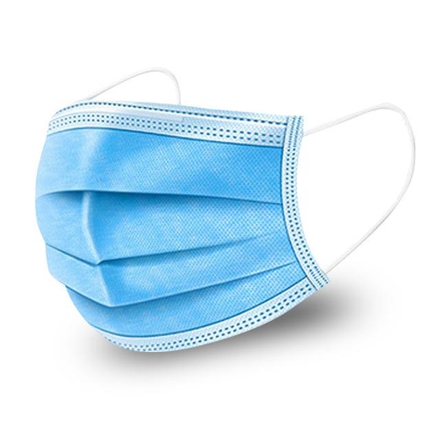 20 Pcs Mouth Mask Men Women Cotton Anti Dust Mask Mouth Mask Windproof Antiviral Mask Bacteria Proof Flu Face Masks 1