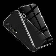 Para blackview bl6000 pro 5g capa para blackview bl6000 caso transparente macio tpu caso de telefone para blackview bl6000