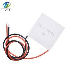 10 sztuk TEC1 12705 moduł peltiera do chłodzenia termoelektrycznego 12705 12V 5A peltiera komórki TEC12705 moduł peltiera