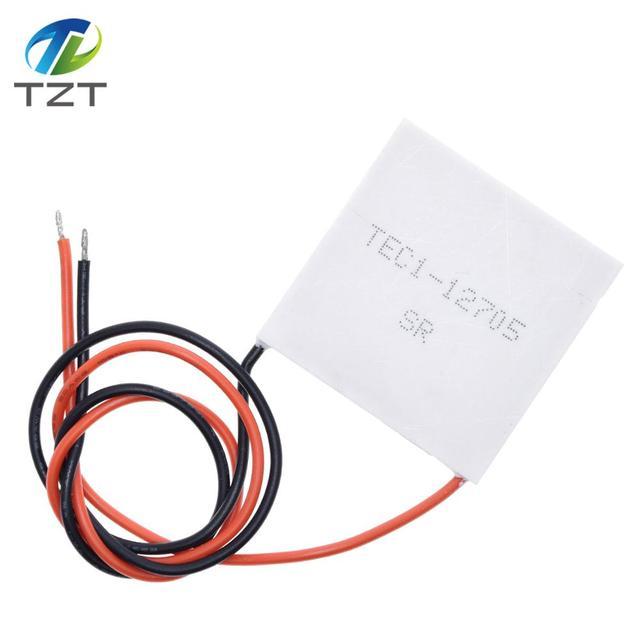10pcs TEC1 12705 Thermoelectric Cooler Peltier 12705 12V 5A Peltier Cells TEC12705 peltier module
