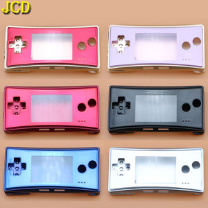 Image 1 - JCD 4 in 1 Metal Housing Shell Case for Nintend GameBoy Micro GBM Front Back Cover Faceplate Battery Holder w/ Screw