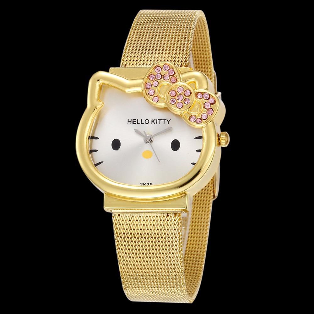 High Quality Cartoon Cute Brand Leather Quartz Watch Children Kids Girls Boys Casual Bracelet Wristwatch Relogio