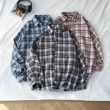Autumn New Woolen Jacket Men Fashion Retro Casual Plaid Jackets Streetwear Wild Loose Coat Man Clothes M-5XL
