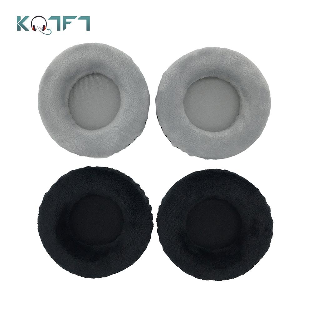 KQTFT 1 Pair of Velvet Replacement Ear Pads for Tourya B7 Wireless B-7 B 7 EarPads Earmuff Cover Cushion Cups image
