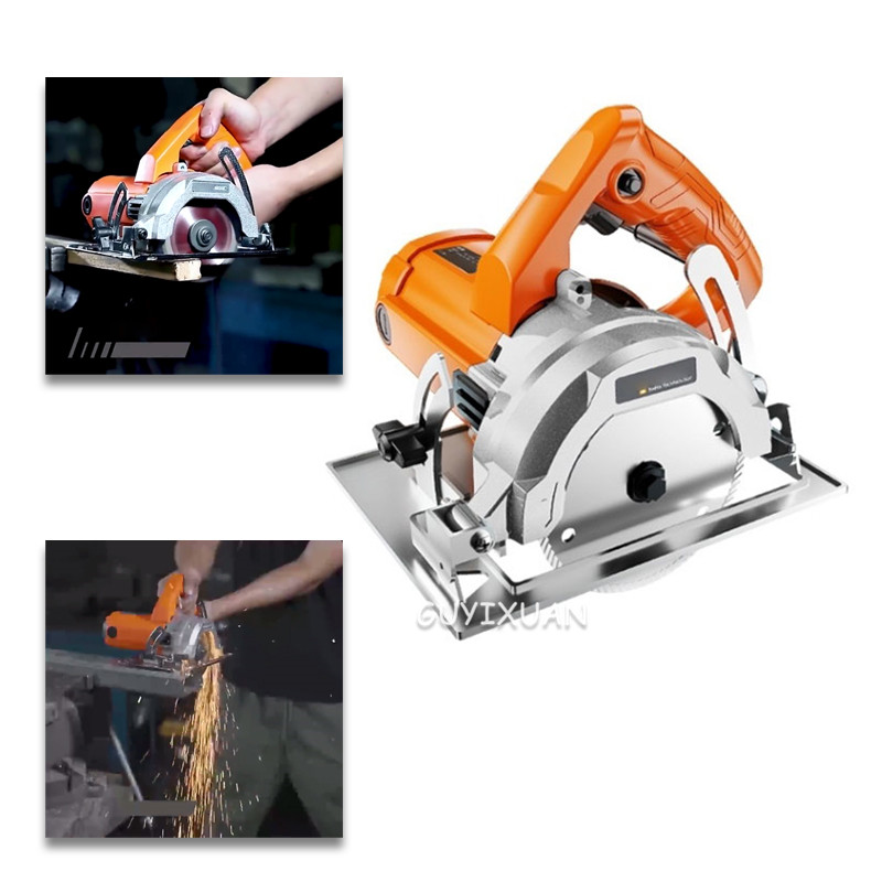 Woodworking slotting machine electric marble tile special cutting machine high-power multi-function small cutting machine
