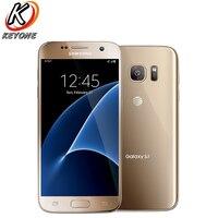 Original AT&T Version Samsung Galaxy S7 G930A 4G LTE Mobile Phone 5.1 4GB RAM 32GB ROM Quad Core NFC 12MP Camera Cell Phone
