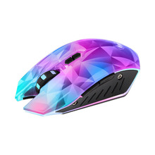 Wired Gaming Mouse Silent Optical 2400DPI USB Colorful Backlight Gamer For Computer Laptop LHB99