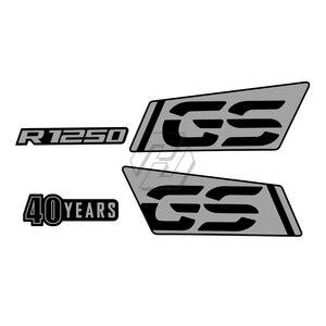 Image 2 - 오토바이 R 1250 GS 로고 스티커 Nib 종이 스티커 액세서리 BMW R1250GS 모험에 대 한 방수 2017 2021 2018 2019 2020