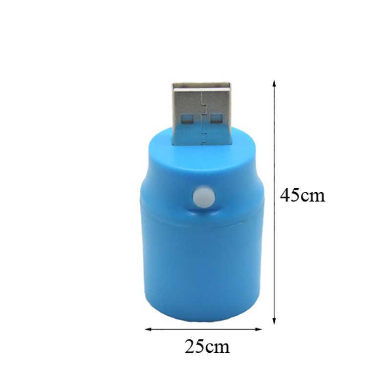 Mini USB Lámpara de noche con luz LED pequeña lámpara de ordenador para ordenador portátil lámpara para lectura de libros luz nocturna portátil 2018 Dropship