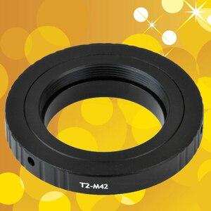 Image 1 - Do teleskopów mikroskopy T2 T obiektyw do M42 zestaw adapterów do montażu pierścieniowego T2 M42