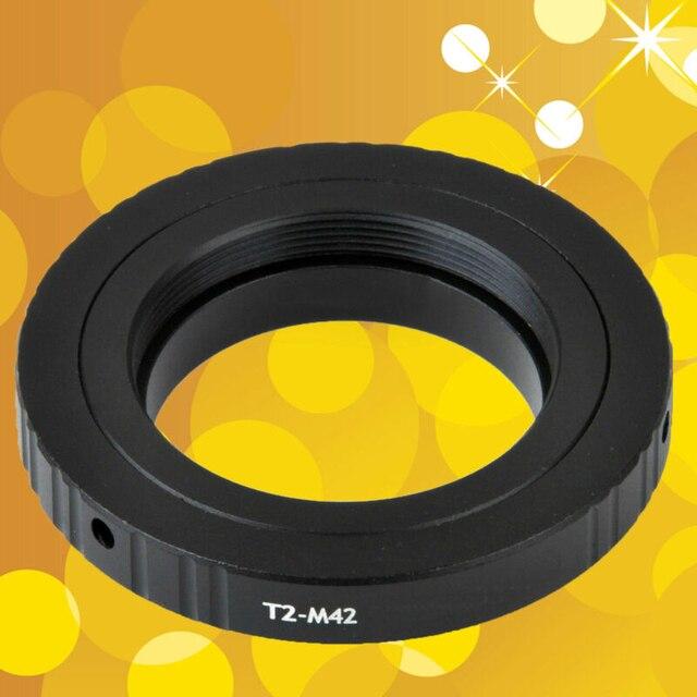 Do teleskopów mikroskopy T2 T obiektyw do M42 zestaw adapterów do montażu pierścieniowego T2 M42