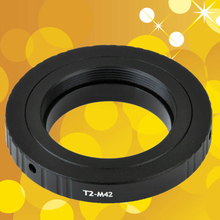 Para telescopios, microscopios T2 T, lente a M42, anillo de montaje, Kit adaptador de T2 M42