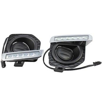 Led Daytime Running Lights For Land Rover Freelander2 Lr2 2011-2013