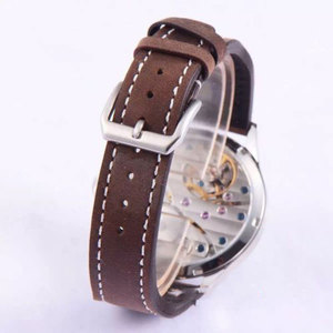 Image 2 - 44mm CORGEUT czarna tarcza 6497 ręczne nakręcanie mechaniczne męskie zegarki słynnej luksusowej marki ruch męski zegarek