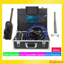 512hz sonda transmissor tubo localizador plumb câmera com 512hz localizador receptor endoscópio endoscópio câmera de vídeo com 7