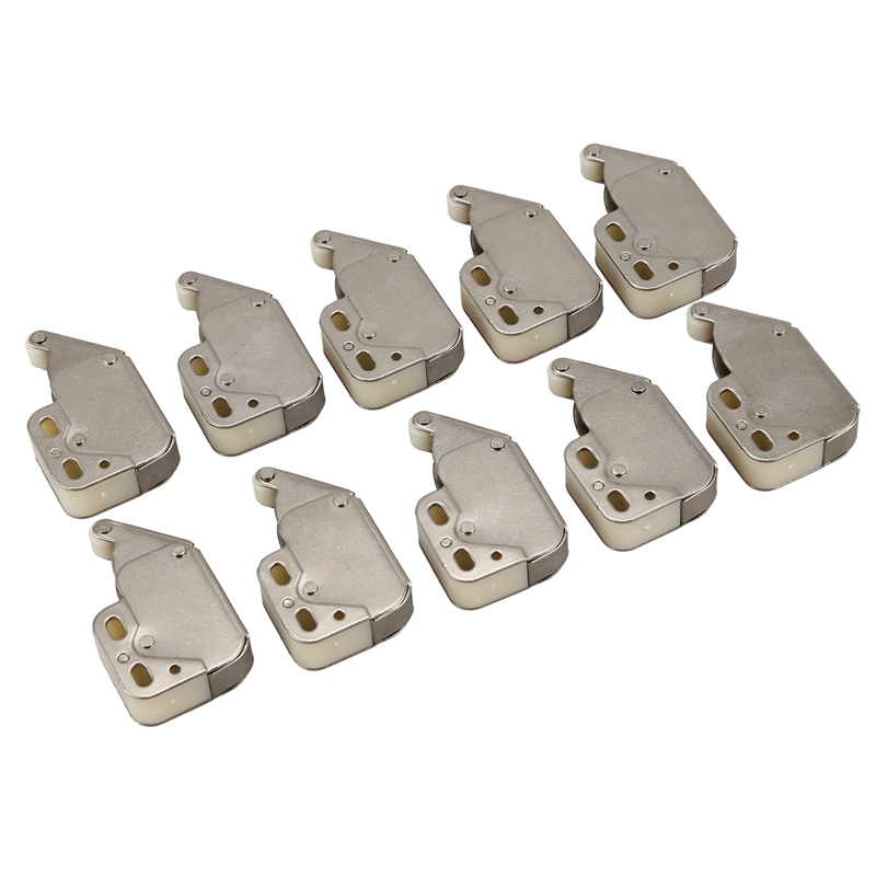 Press Open Door Catch Tip Touch Push Latch for Cabinet Cupboard 10pcs|Window Latches| |  - title=