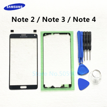 Replacement External Glass For Samsung Galaxy Note 2 3 4 N7100 N900 N9005 N910 LCD Display Touch Screen Front Outer Glass Lens