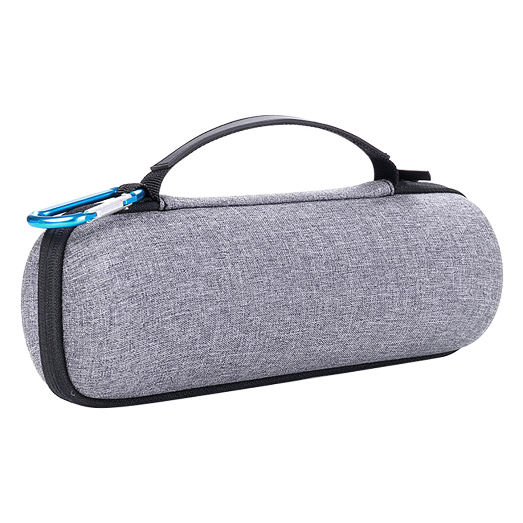 EPULA Portable Hard Travel Carrying Bag Gray Zipper Storage Case Cover For JBL Flip 3 4 Bluetooth Speaker Outdoor Speaker Bag