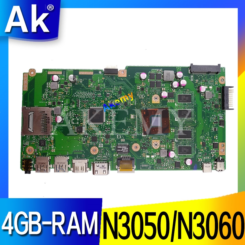 NEW!X540SA Mainboard 4GB-RAM N3050/N3060 CPU REV 2.0 For ASUS X540 X540S X540SA X540SAA Laptop Motherboard Test Ok
