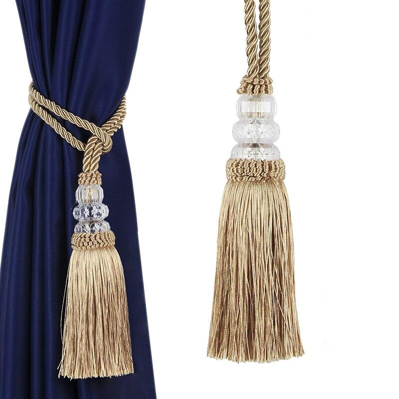 1Pc Hanging Ball Tassel Curtain Tieback Simple Big Tassels Pendant Home Decoration Single Ball Curtain Rope Room Accessories