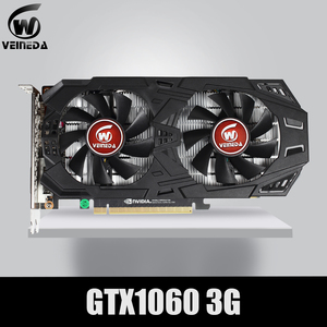 VEINEDA Graphics Card GTX 1060 3GB 192Bit GDDR5 GPU Video Card PCI-E 3.0 For nVIDIA Gefore Series Games Stronger than GTX 1050Ti(China)