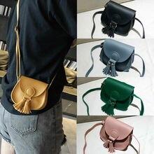 Новая детская маленькая сумка через плечо для девочек и женщин, Кожаная поясная сумка, женская сумка через плечо