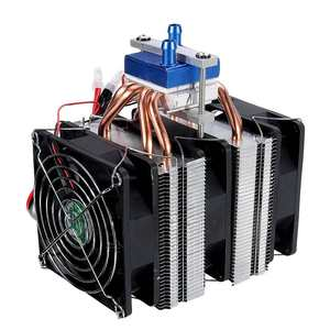 12V 120W Thermoelectric Cooler Semiconductor Refrigeration Water Chiller Cooling System Device Fish Tank Refrigerator
