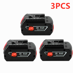Charger for Bosch Electric Drill 18 V 10000 mAh Li-ion Battery BAT609, BAT609G, BAT618, BAT618G, BAT614, 2607336236 Charger