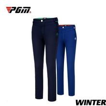 PGM, женские зимние штаны, флисовые штаны для гольфа, женские штаны для холодной погоды, термо штаны для отдыха, женские черные теплые флисовые штаны