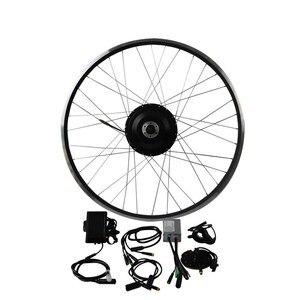 Image 1 - 36V 500W 8fun Bafang 8FANG elektrische bike vorne motor/Schraube Freewrear Hinten hub motor kit Elektrische fahrrad Conversion Kit