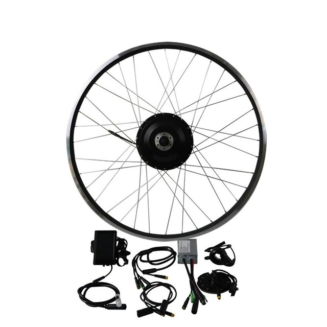 36V 500W 8fun Bafang 8FANG elektrische bike vorne motor/Schraube Freewrear Hinten hub motor kit Elektrische fahrrad Conversion Kit