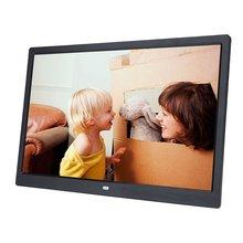 HD 1440*900 64G цифровая фоторамка электронный альбом 17 дюймов светодиодный сенсорный экран Кнопки многоязычный