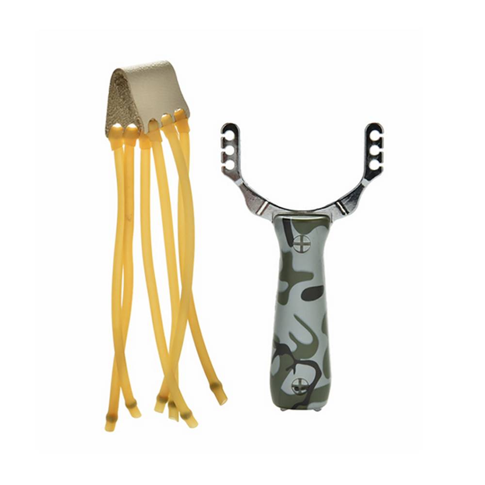 Professional Metal Slingshot Sling Shot Catapult Camouflage Bow Safety Un-hurtable Outdoor Game Playing Tools