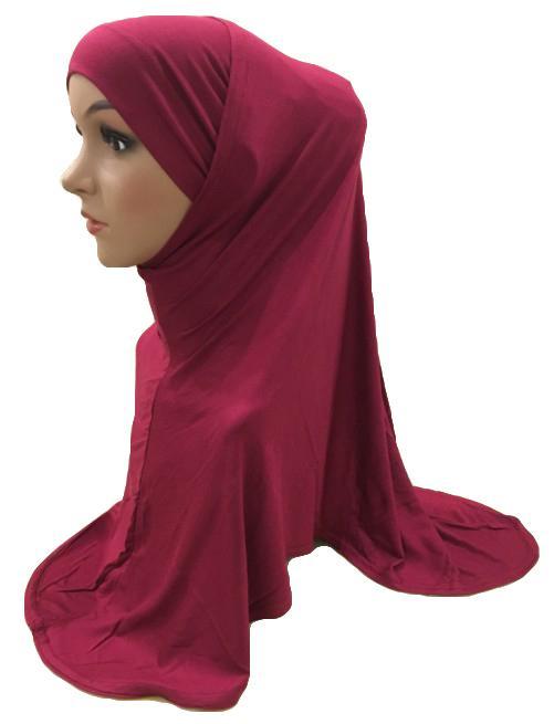 Sets Muslim Women Hijab Scarf + Hat Head Cover Islamic Turban Shawl Islamic Prayer Neck Cover Underscarf Niquabs Headscarf New