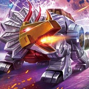Image 5 - MFT Transformation dinosaure G1 Animation couleur laitier Snarl Grimlock MF 22 figurine jouet
