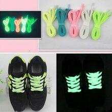 Cordones luminosos para zapatos de lona, accesorios, zapatilla para corredor plana, cordones, deporte, baloncesto, 120CM