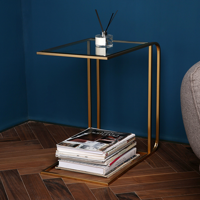 Small Family-sized Modern Minimalist Sofa Corner Can Move Side Table A Few Creative Small Coffee Table
